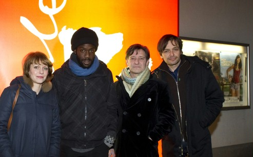 Feb 13, 2011Maren Ade, Jean-Christophe Folly, Pierre Bokma, Ulrich Köhler  The producer, the two actors and the director visited the screening of their film. Competition – Schlafkrankheit | Sleeping Sickness – Berlinale Goes Kiez