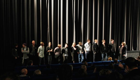 Feb 15, 2011After the screening  The film team being introduced on stage. Panorama – How Are You