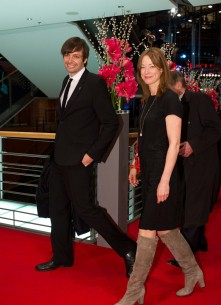 Feb 19, 2011Ulrich Köhler, Jenny Schily  The director and the actress on their way to the Award Ceremony. Competition – Schlafkrankheit | Sleeping Sickness – Closing Gala