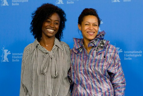 Feb 10, 2012Aïssa Maïga, Anisia Uzeyman  Beaming smile: The two actresses at the Photo Call.  Competition – Aujourd'hui | Tey
