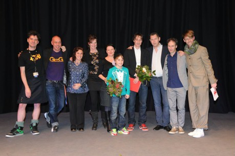 Feb 18, 2012Group picture  The International Jury and the winners.  Generation – Kauwboy – Grand Prix of the Deutsches Kinderhilfswerk