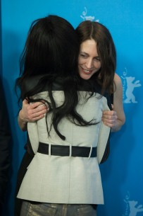 Feb 11, 2013Rayna Campbell, Pia Marais  Big hug: the director and her leading actress after the Photo Call.  Competition – Layla Fourie