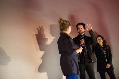 Feb 10, 2014Maike Mia Höhne, Diogo Costa Amarante  The curator speaking to the director at the Q&A session after the premiere.  Berlinale Shorts – As Rosas Brancas | The White Roses | Die Weißen Rosen