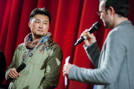 Feb 10, 2014Zhao Dayong, Ansgar Vogt  The director and the moderator during Q&A. Forum – Gui ri zi | Shadow Days
