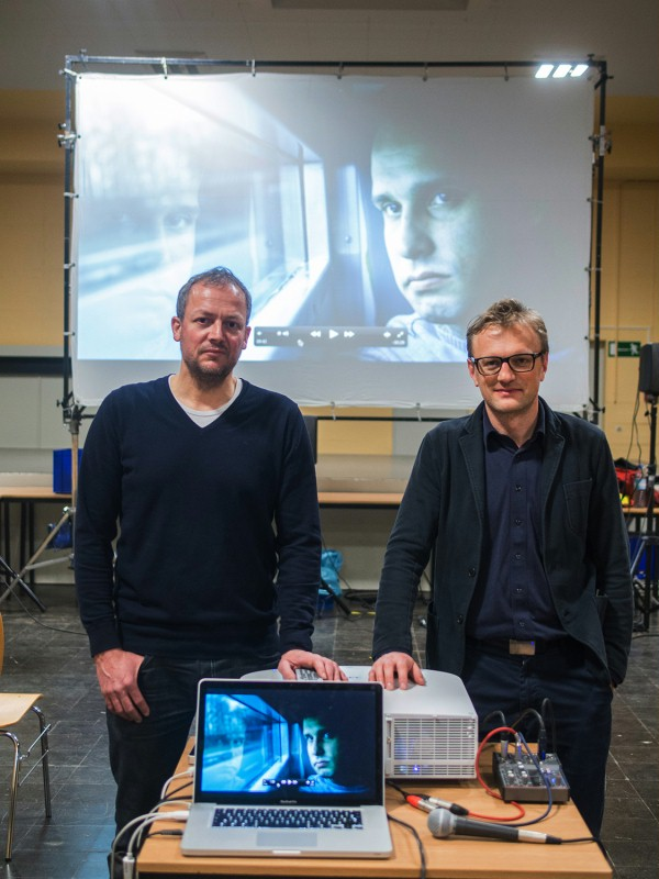 Georg Nonnenmacher, Hajo Schomerus   The director and the cinematographer of the film that was shown that day at the prison in Tegel.     Perspektive Deutsches Kino  –   Raumfahrer  | Spacemen     Feb 10, 2014