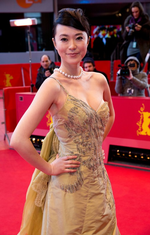 Huang Lu   The actress on the Red Carpet.     Competition  –   Tui Na  | Blind Massage     Feb 10, 2014