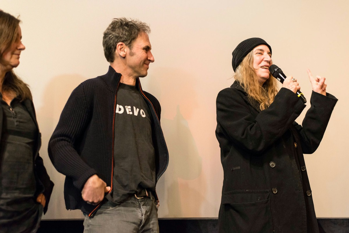 Frieder Schlaich, Patti Smith   In the cinematic essay the director Frieder Schlaich and Patti Smith meet in Larache in Morocco at the grave of Jean Genet, to whom Patti Smith once made a promise, and now intends to keep it.     Berlinale Shorts  –   Three Stones for Jean Genet      Feb 13, 2014