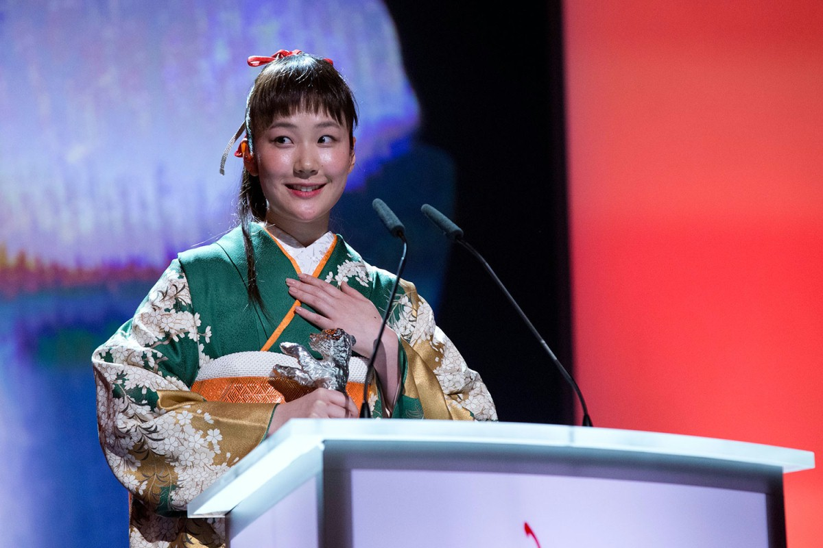 Haru Kuroki   The winner of the Silver Bear for Best Actress.     Competition  –   Chiisai Ouchi  | The Little House  – Silver Bear    Feb 15, 2014