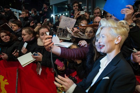 Feb 6, 2014Tilda Swinton  The actress was delightfully welcomed by her fans. Competition – The Grand Budapest Hotel | Grand Budapest Hotel – Opening Gala