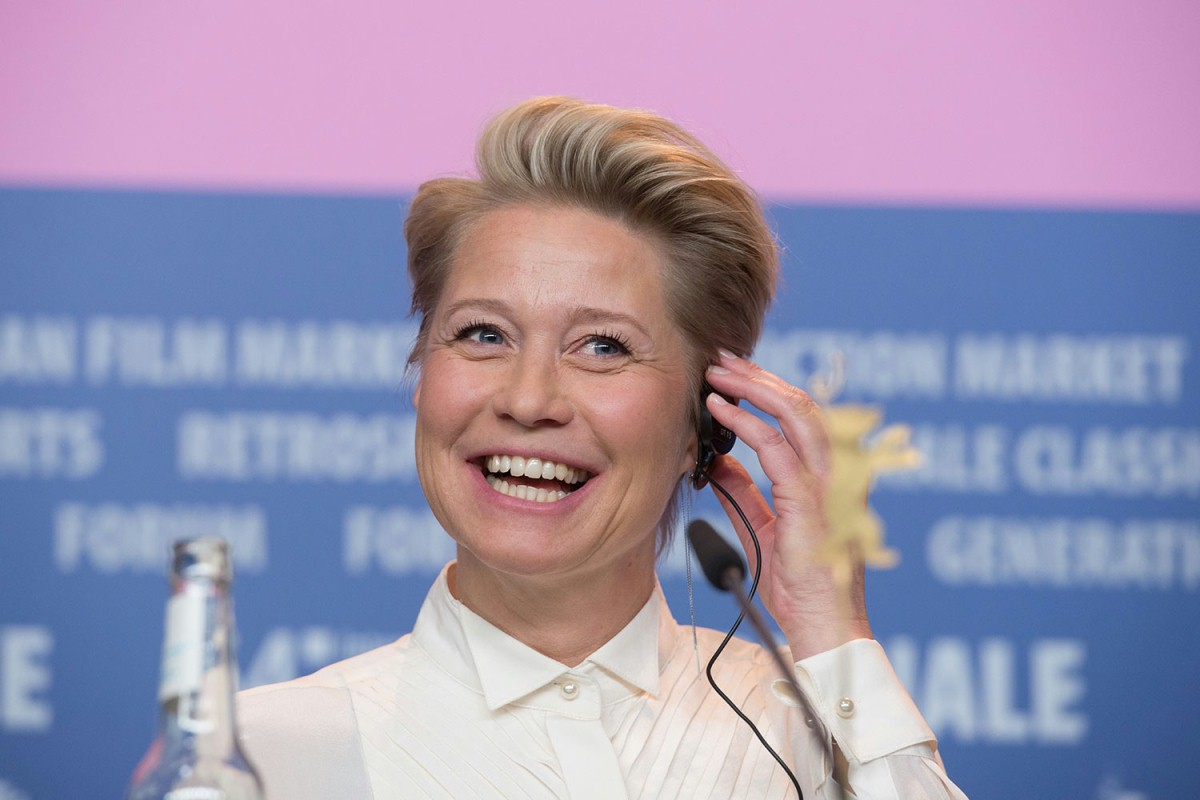 Trine Dyrholm   One of the most successful Danish actors at the Press Conference.     Competition  – International Jury    Feb 6, 2014