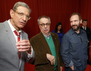 Feb 6, 2014Jeff Goldblum, Dieter Kosslick, Ralph Fiennes  The Festival Director framed by the actors of the opening film in the Berlinale VIP Club. Competition – The Grand Budapest Hotel | Grand Budapest Hotel
