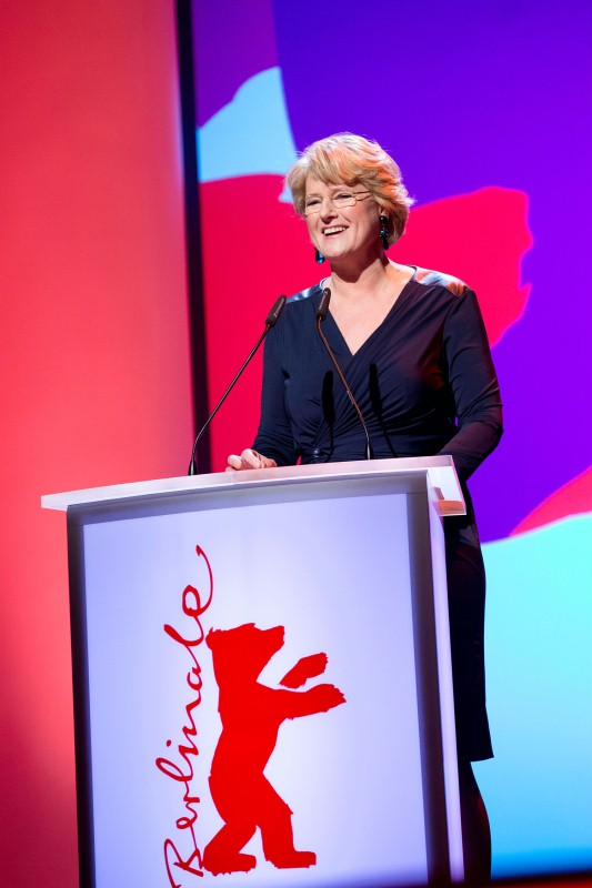 Monika Grütters   Germany's new Minister of State for Culture and the Media during her opening speech at the Berlinale Palast.     Competition  – Opening Gala    Feb 6, 2014