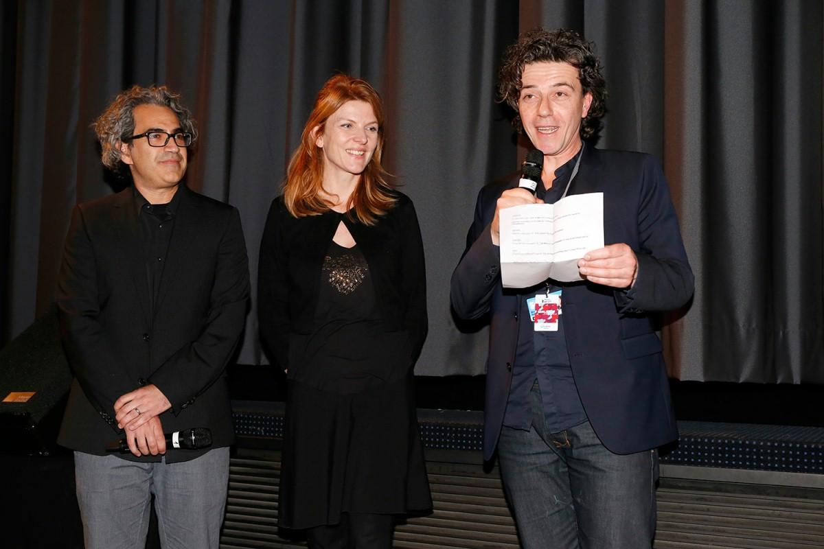 Tommy Pallotta, Femke Wolting, Bruno Felix   The two directors and the producer of the film.     Panorama  –   Last Hijack      Feb 7, 2014