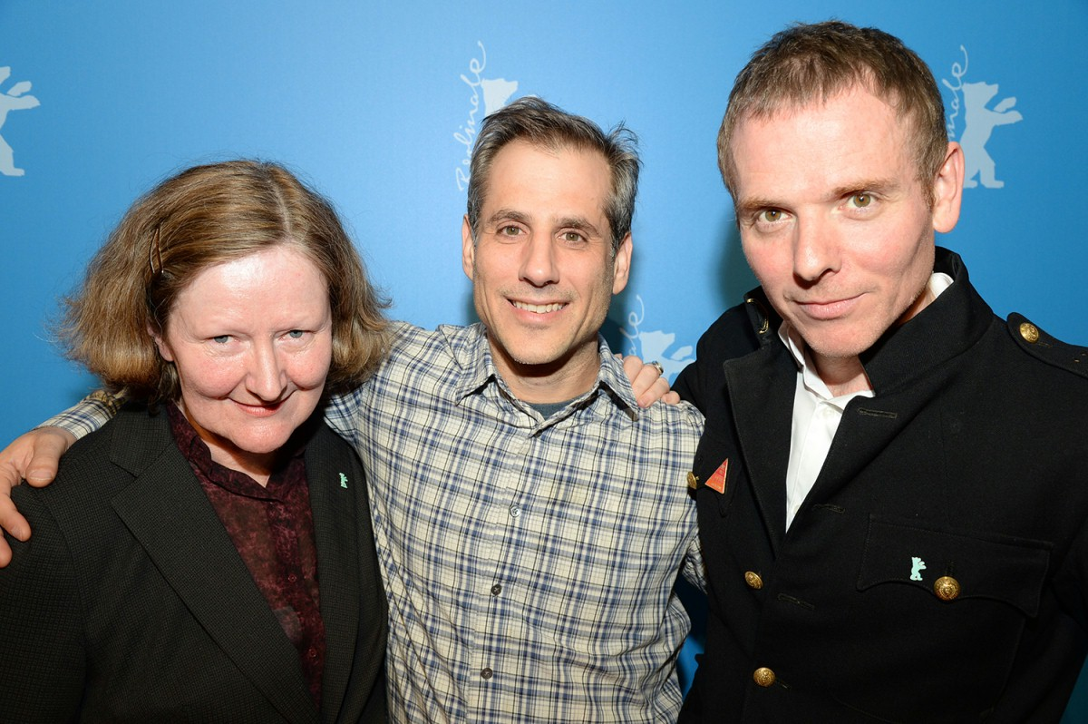 Maryanne Redpath, Barry Mendel, Stuart Murdoch   The section head with the producer and the director of the film.     Generation  –   God Help the Girl      Feb 7, 2014
