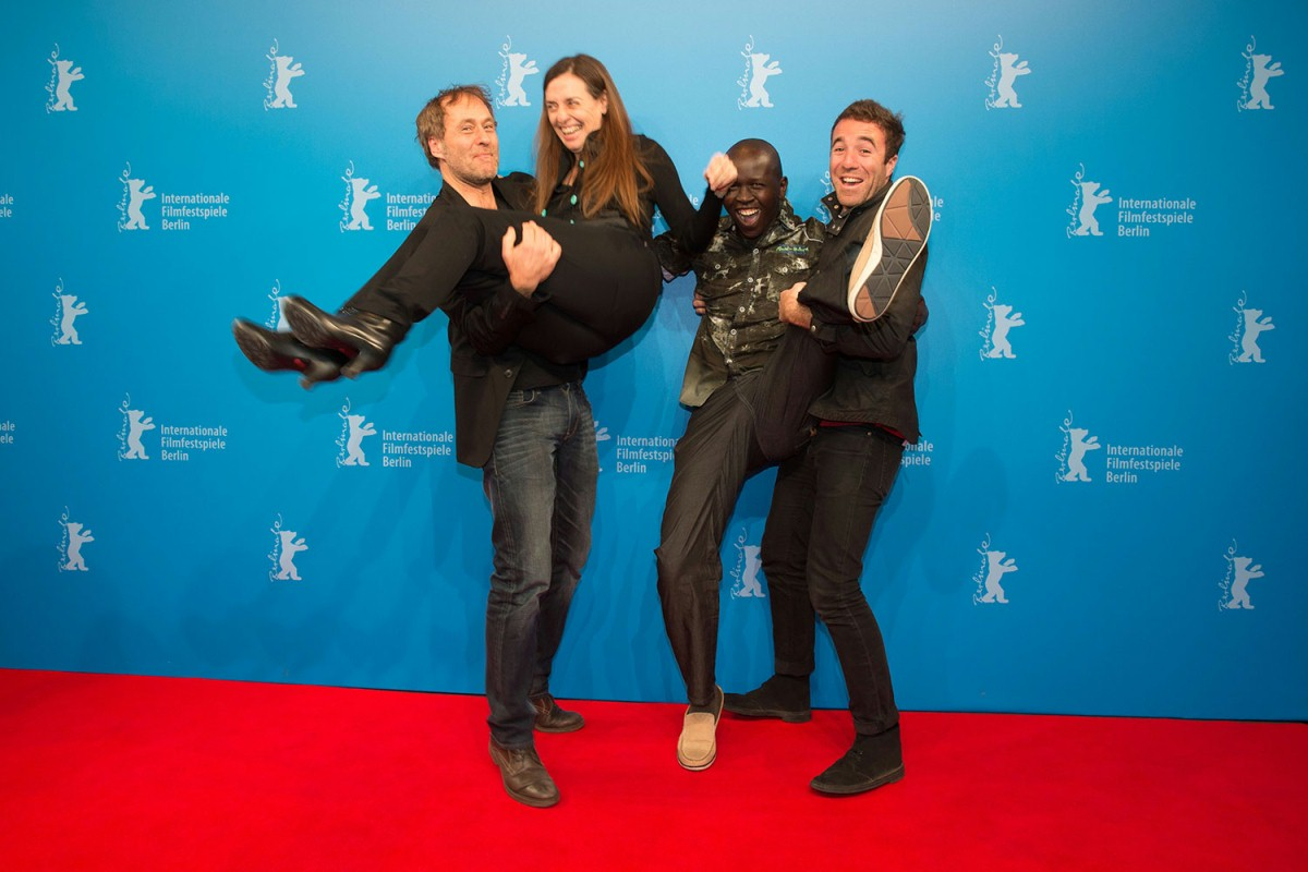 Three cheers and a tiger!   The film team. Hubert Sauper´s film  Darwin's Nightmare  was Oscar nominated.     Berlinale Special  –   We Come as Friends      Feb 8, 2014