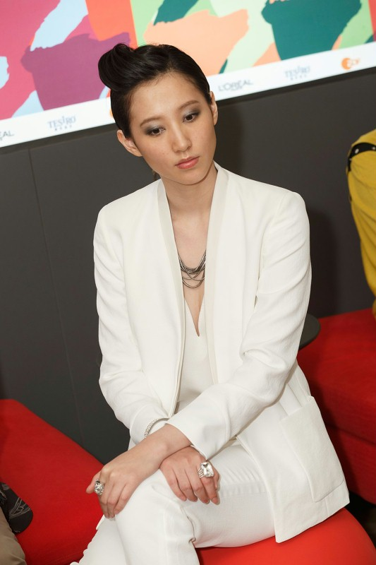 Christie Chen   The actress at the Berlinale VIP Club.     Panorama  –   Mo Jing  | That Demon Within     Feb 8, 2014