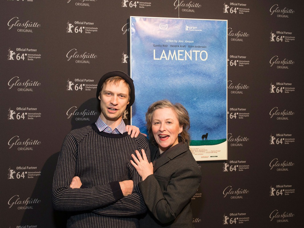 Jöns Jönsson, Gunilla Röör   The director and his leading actress.     Perspektive Deutsches Kino  –   Lamento      Feb 9, 2014