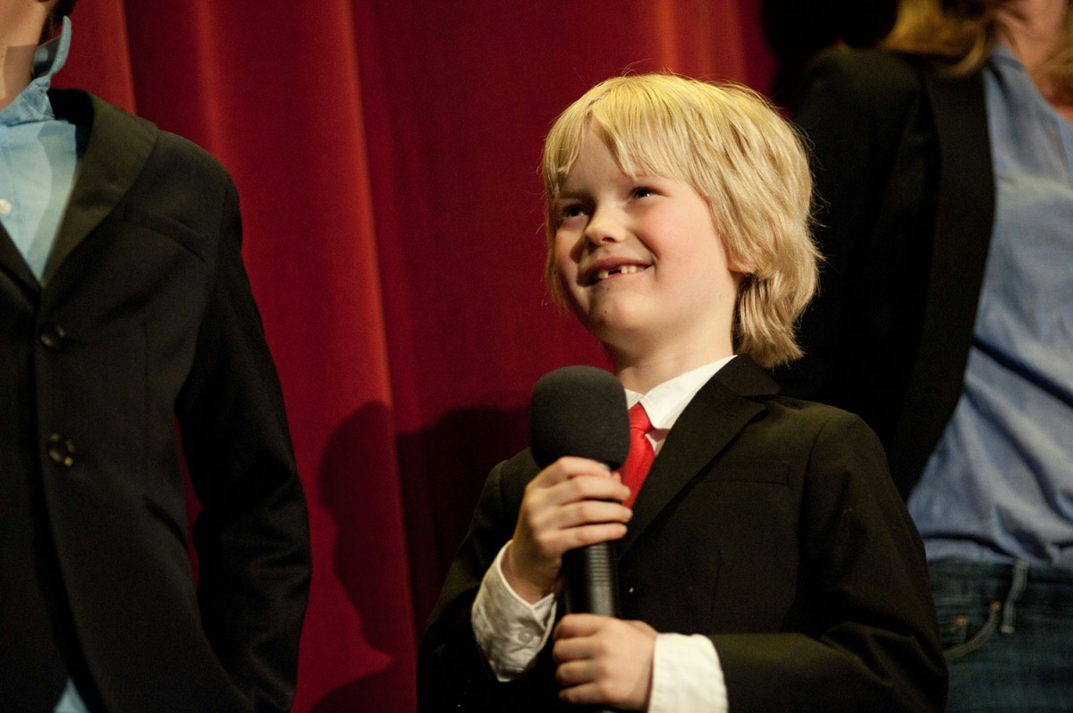"Georg Arms   The young actor at the ""Kiez"" cinema Toni & Tonino in Weißensee.     Berlinale Goes Kiez  –   Jack      Feb 9, 2014"