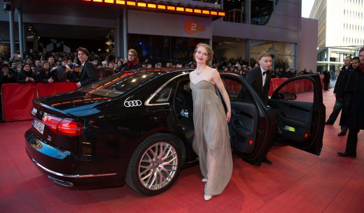 Feb 9, 2014Anna Brüggemann, Dietrich Brüggemann  Arriving at the Berlinale Palast. Competition – Kreuzweg | Stations of the Cross