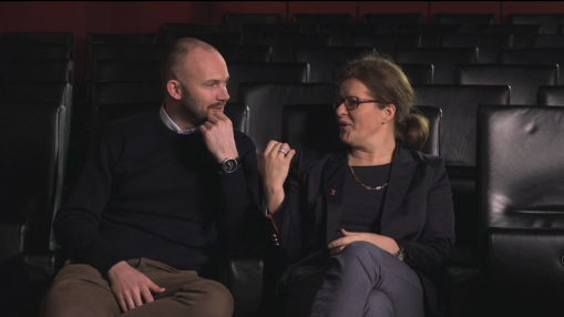 Interview    Friday Jan 17, 2014     Programme Manager Matthijs Wouter Knol and Project Manager Christine Tröstrum