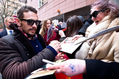 Feb 6, 2015James Franco  A huge welcome: the actor at the Potsdamer Platz. Competition – Queen of the Desert