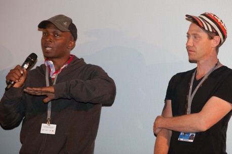 "Feb 9, 2015Donald Mugisha, James Tayler   The two members of the collective ""Yes! That's Us"" that directed the film. Forum – Abaabi ba boda boda 