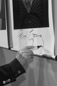 Feb 11, 2015Peter Greenaway  The director signing his Star Portrait at the Berlinale Palast.  Competition – Eisenstein in Guanajuato