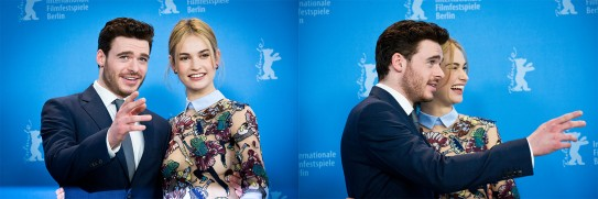 Feb 13, 2015Richard Madden, Lily James  The actors at the Photo Call. Competition – Cinderella