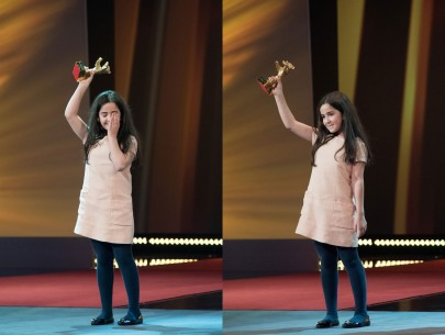 Feb 14, 2015Hana Saeidi  The niece of director Jafar Panahi was moved to tears.  Competition – Taxi – Closing Gala – Golden Bear