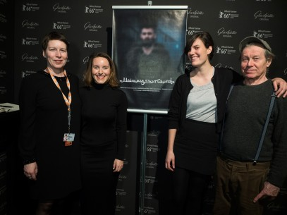 Feb 12, 2016Linda Söffker, Sophia Bösch, Sophie Linnenbaum, Michael Klier  The section head with the two directors and the initiator of the project. Perspektive Deutsches Kino – Research Refugees: Meinungsaustausch | Research Refugees: Duologue