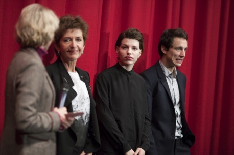 Feb 14, 2016Ruth Beckermann, Anja Plaschg, Laurence Rupp  The director and the two actors at the premiere. Forum – Die Geträumten | The Dreamed Ones