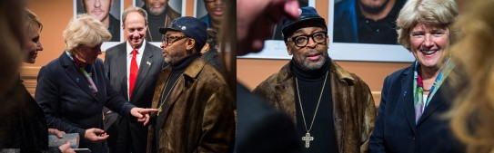 Feb 16, 2016Monika Grütters, Spike Lee  The Minister of State and Federal Government Commissioner for Culture and the Media and the director.  Competition – Chi-Raq