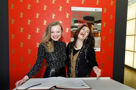 Feb 10, 2017Maria Dragus, Ella Rumpf  The two leading actresses had as much fun on set as they did at the Berlinale VIP Club.  Panorama – Tiger Girl