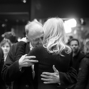 Feb 13, 2017Bruno Ganz, Sally Potter  Hello! The actor and the director on the Red Carpet. Competition – The Party