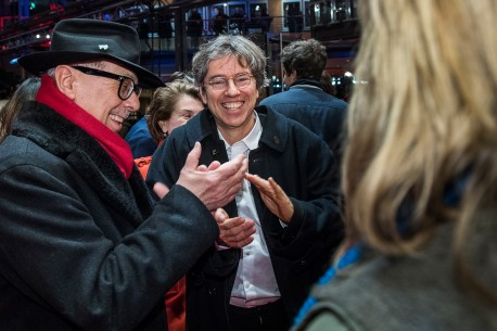 Feb 14, 2017Dieter Kosslick, Andres Veiel  The Festival Director and the director on the Red Carpet. Competition – Beuys