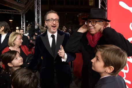 14.2.2017James Gray, Dieter Kosslick  Der Regisseur und der Festivaldirektor am Zoo Palast. Berlinale Special – The Lost City of Z | Die versunkene Stadt Z