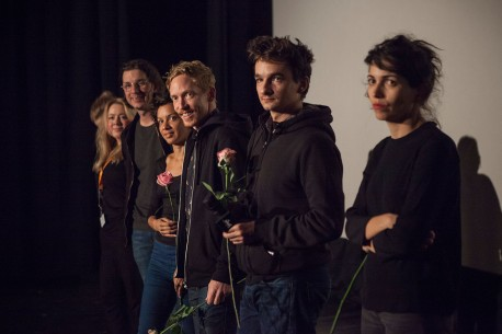 Feb 16, 2017Berlinale Shorts  Producer Therese Hogberg and director Victor Lindgren of Kometen, the two directors Bárbara Wagner and Benjamin de Burca of Estás vendo coisas as well as director Gabriel Abrantes and Margarida Lucas, who gave the robot Andy Coughman her voice in Os Humores Artificiais, at the City Kino Wedding. Berlinale Goes Kiez – Kometen | The Comet | Der Komet