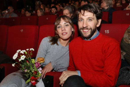 Feb 17, 2018Sebastián Schjaer, Sofía Brito  The director and his main actress at the premiere. Panorama – La omisión | The Omission