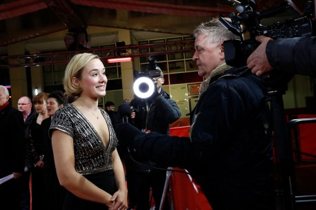 Feb 21, 2018Alba August  The actress giving an Interview on the Red Carpet at Friedrichstadt-Palast. Berlinale Special – Unga Astrid | Becoming Astrid