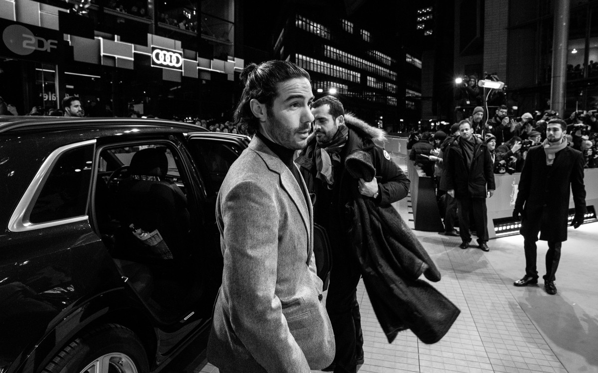Tahar Rahim   The actor arriving at the Berlinale Palast.     Competition  –   The Kindness of Strangers      Feb 7, 2019
