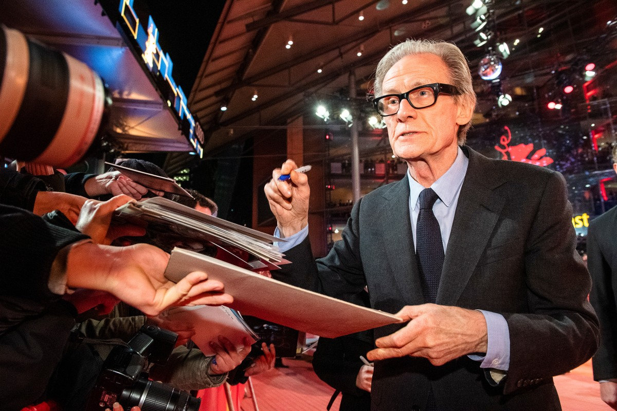 Bill Nighy   The actor with fans at the Red Carpet.     Competition  –   The Kindness of Strangers      Feb 7, 2019