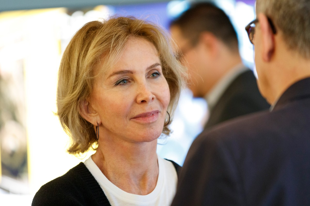 Trudie Styler   The British actress and producer in the Berlinale VIP Club.    International Jury    Feb 7, 2019