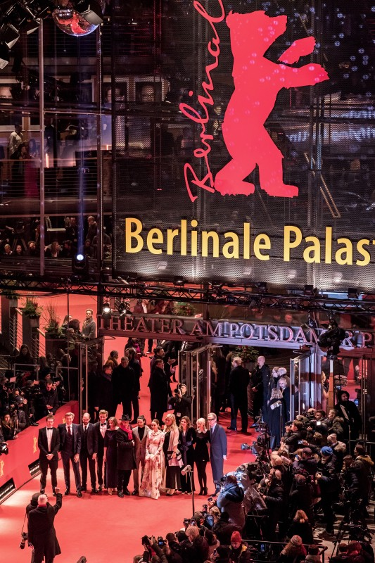Film team   In front of the Berlinale Palast.     Competition  –   The Kindness of Strangers      Feb 7, 2019