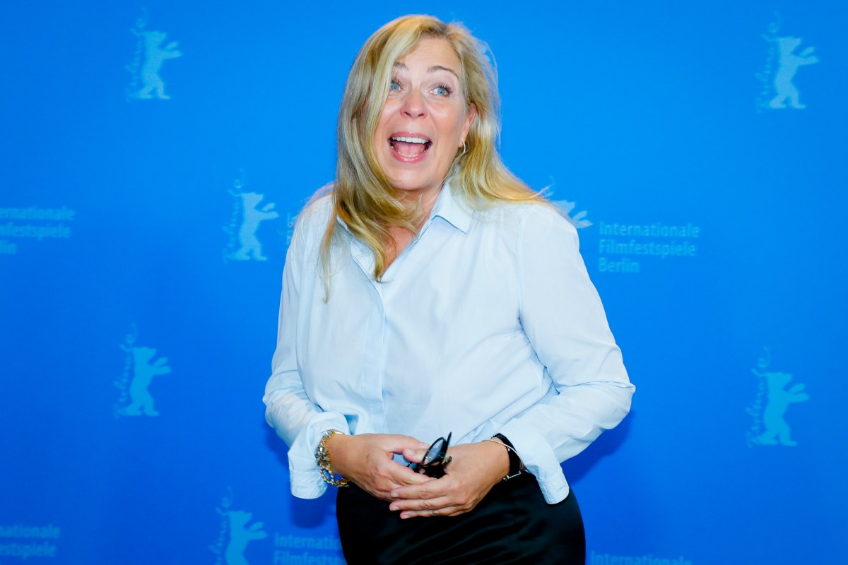 Lone Scherfig   The director at the Photo Call.     Competition  –   The Kindness of Strangers      Feb 7, 2019