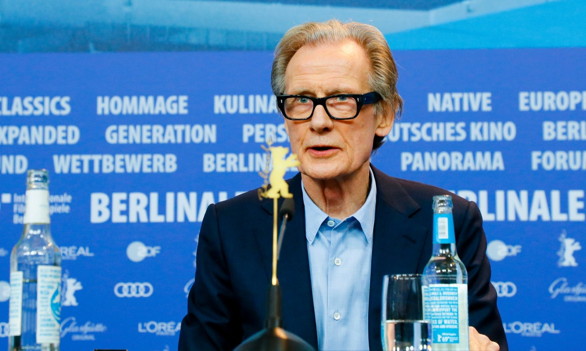 Bill Nighy   The actor at the Press Conference.     Competition  –   The Kindness of Strangers      Feb 7, 2019