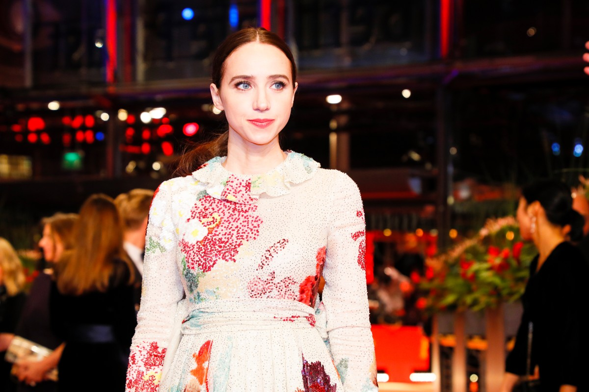 Zoe Kazan    The actress in the Berlinale Palast.     Competition  –   The Kindness of Strangers      Feb 7, 2019
