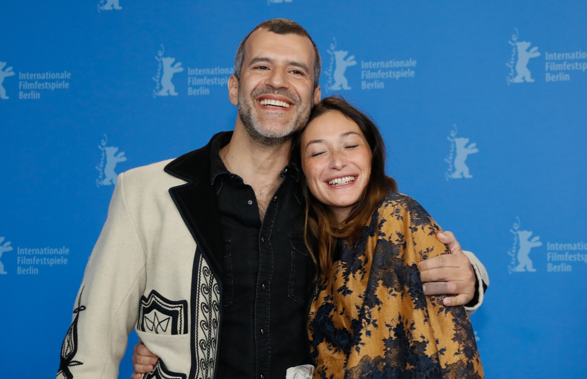 Juan Pablo Olyslager, Diane Bathen   The actors at the Photo Call.     Panorama  –   Temblores  | Tremors     Feb 8, 2019