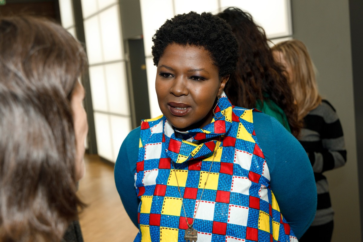 Faith Baloyi   The main actress in the Berlinale VIP Club.     Panorama  –   Flatland      Feb 8, 2019