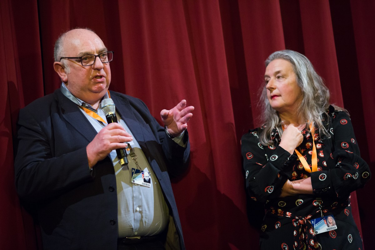 James Mackay, Annie Symons   The producer and the costume designer of the film by Derek Jarman.     Forum  –   The Garden      Feb 8, 2019