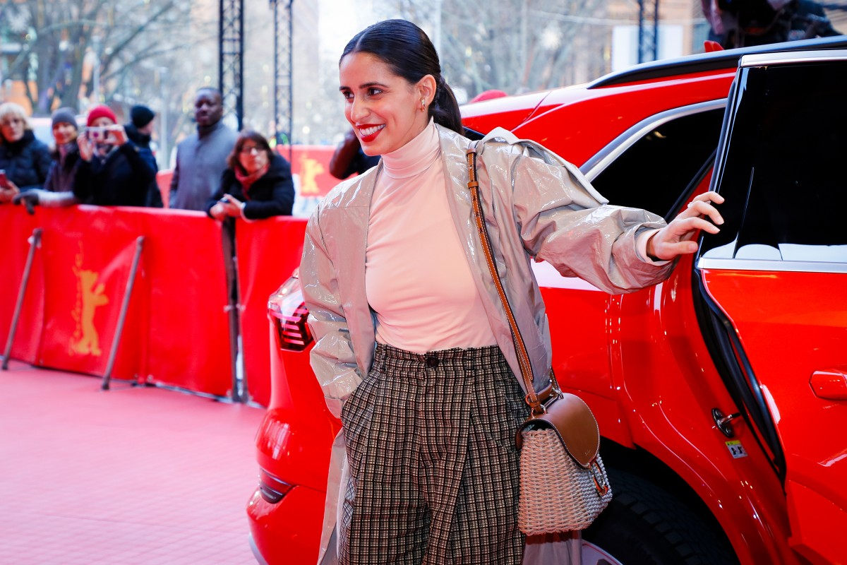 Maryam Zaree   The actress, who has a film as a director in the  Perspektive Deutsches Kino  in 2019, arriving at the Berlinale Palast.     Competition  –   Systemsprenger  | System Crasher     Feb 8, 2019